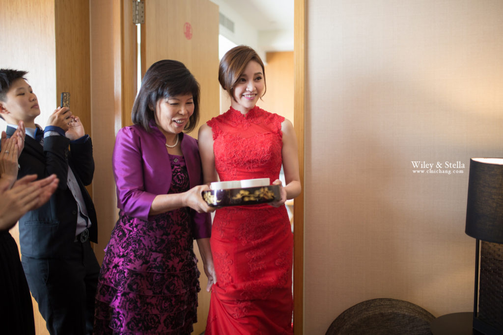 拍攝於蘭城晶英酒店迎娶記錄,台中婚錄推薦張西米9