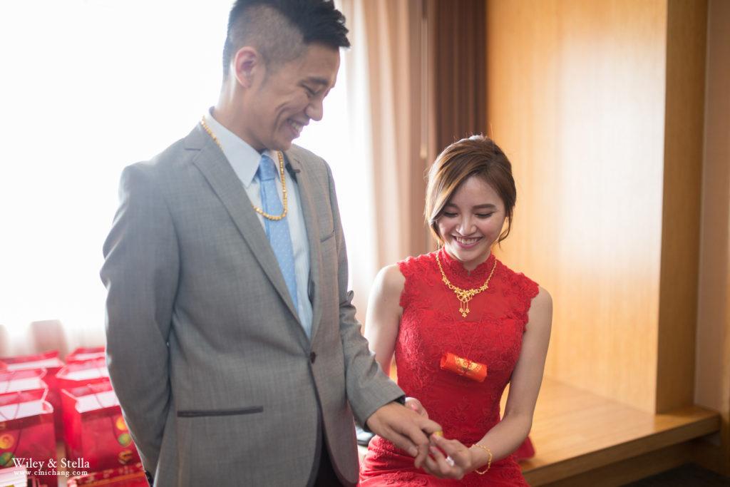 拍攝於蘭城晶英酒店迎娶記錄,台中婚錄推薦張西米14