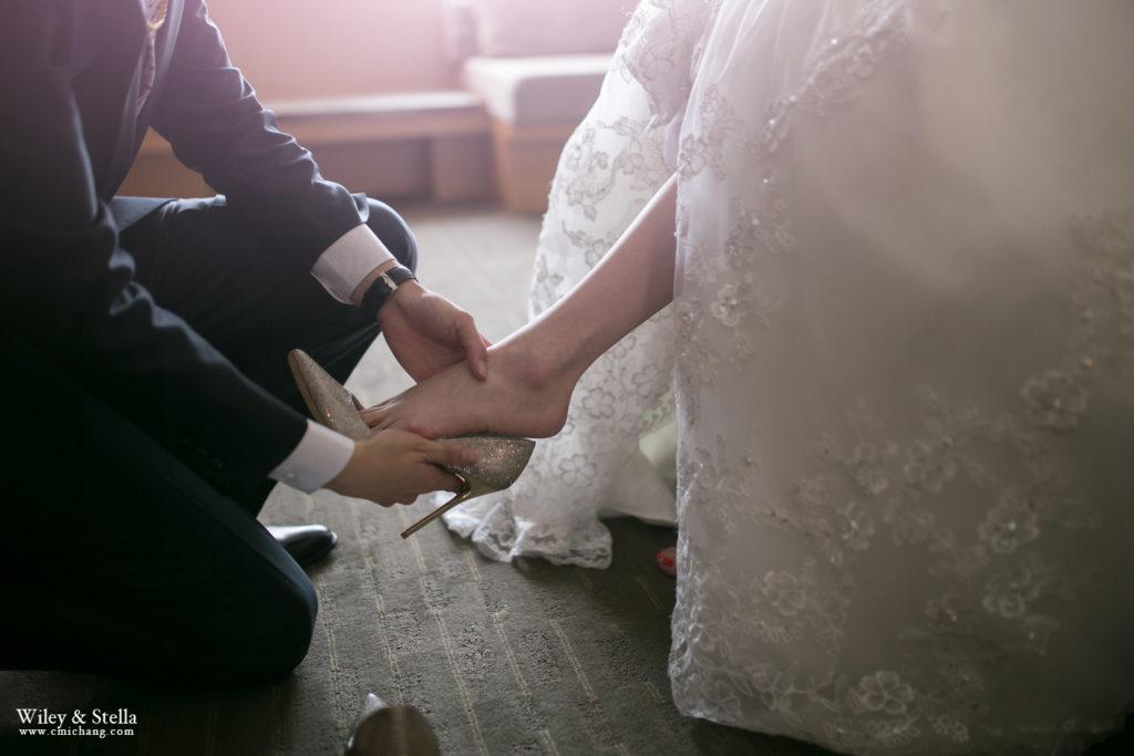 拍攝於蘭城晶英酒店迎娶記錄,台中婚錄推薦張西米43