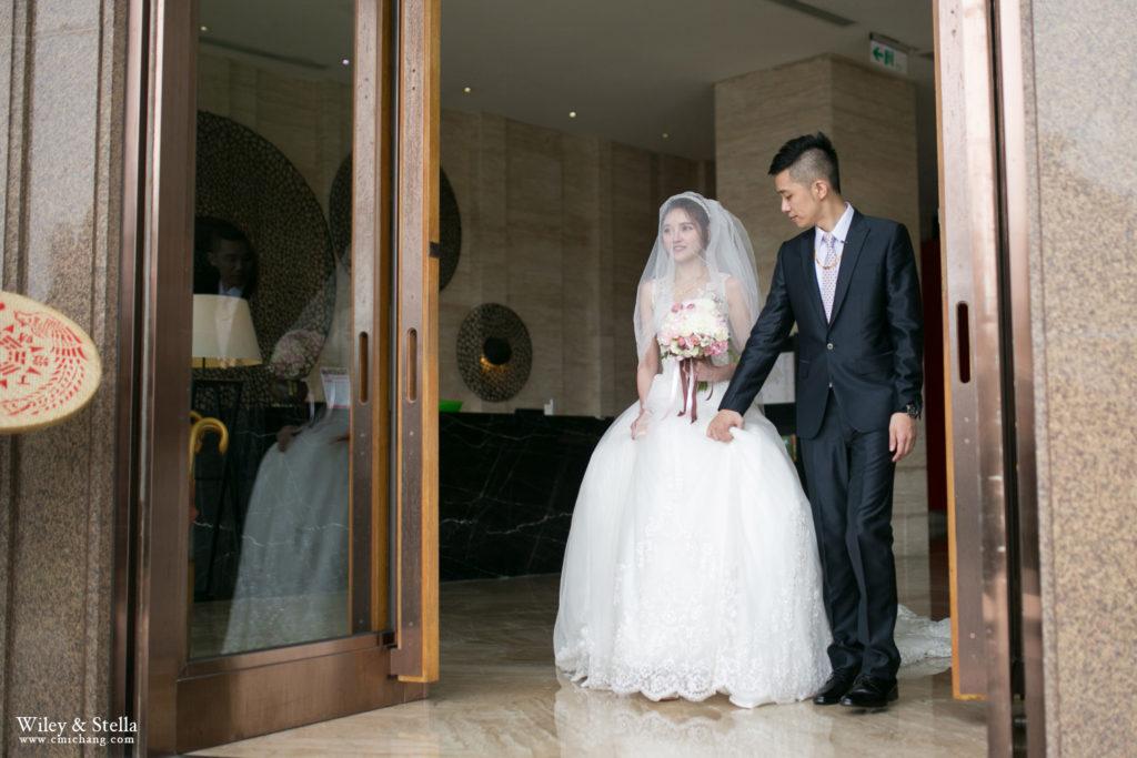 拍攝於蘭城晶英酒店迎娶記錄,台中婚錄推薦張西米51