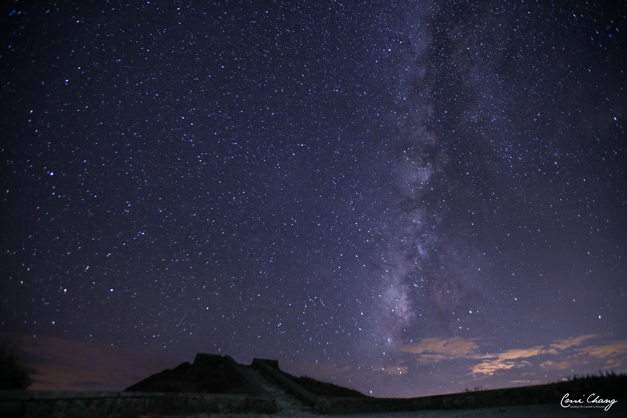 最美夏日銀河特輯就在合歡山,台中婚錄推薦4