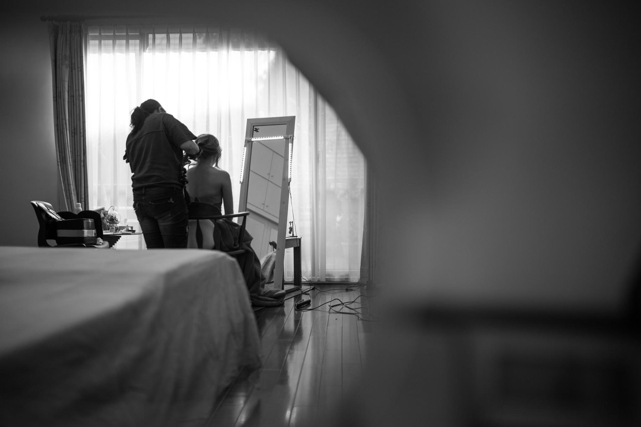 南投南峰高爾夫球場,舉辦婚禮文定儀式,攝影師張西米,台中婚錄推薦15