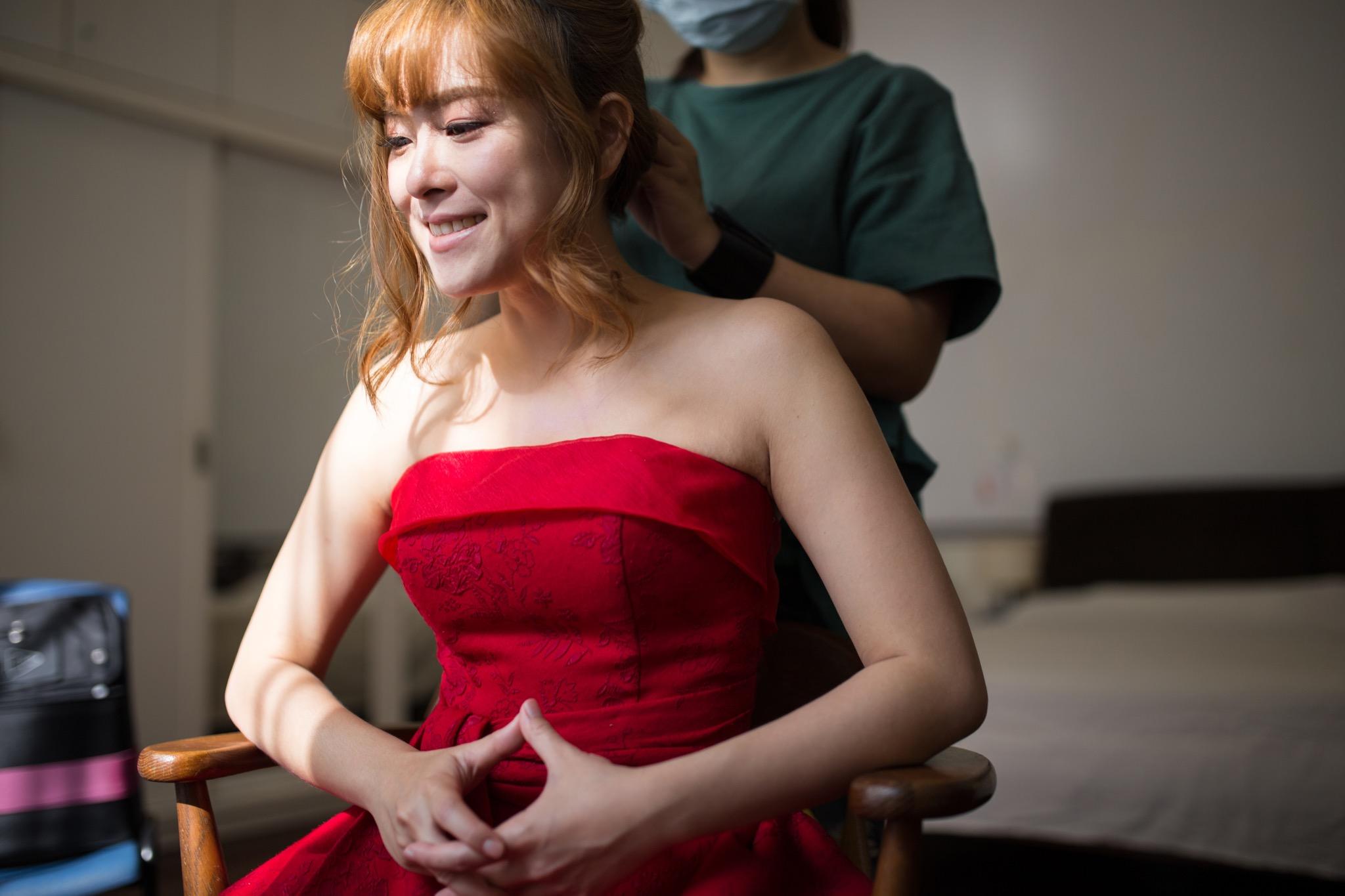 南投南峰高爾夫球場,舉辦婚禮文定儀式,攝影師張西米,台中婚錄推薦16
