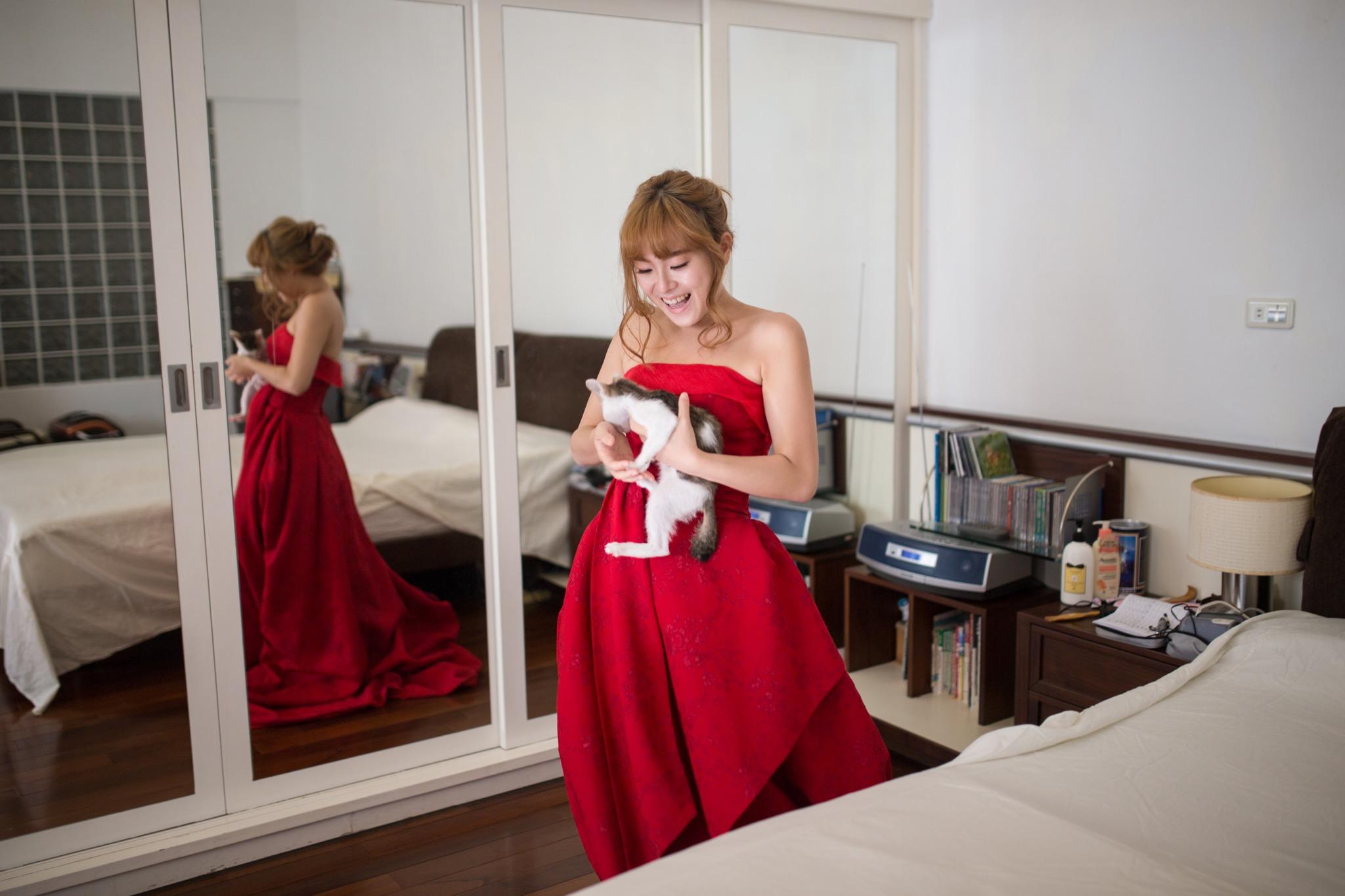 南投南峰高爾夫球場,舉辦婚禮文定儀式,攝影師張西米,台中婚錄推薦18