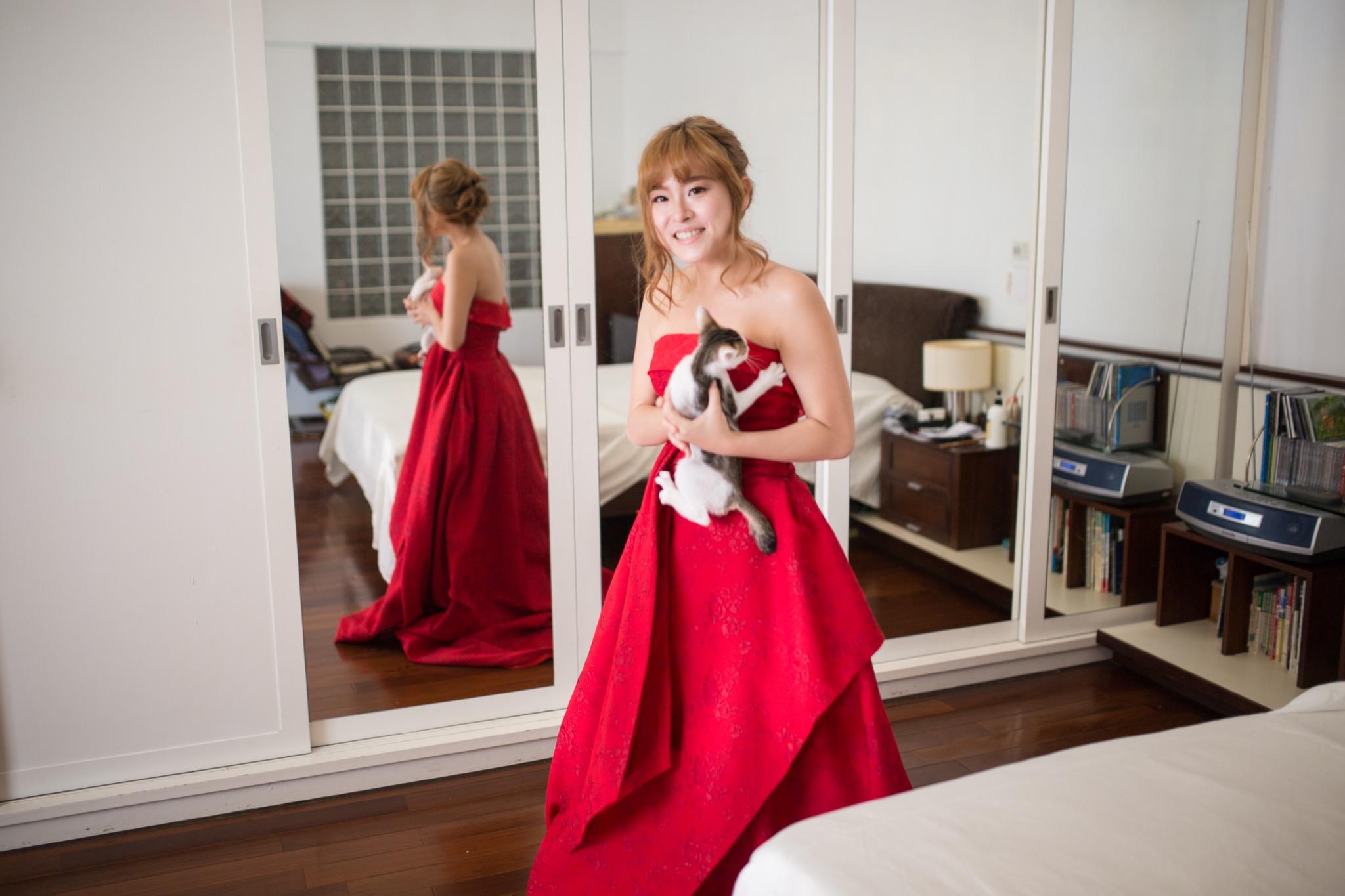 南投南峰高爾夫球場,舉辦婚禮文定儀式,攝影師張西米,台中婚錄推薦19