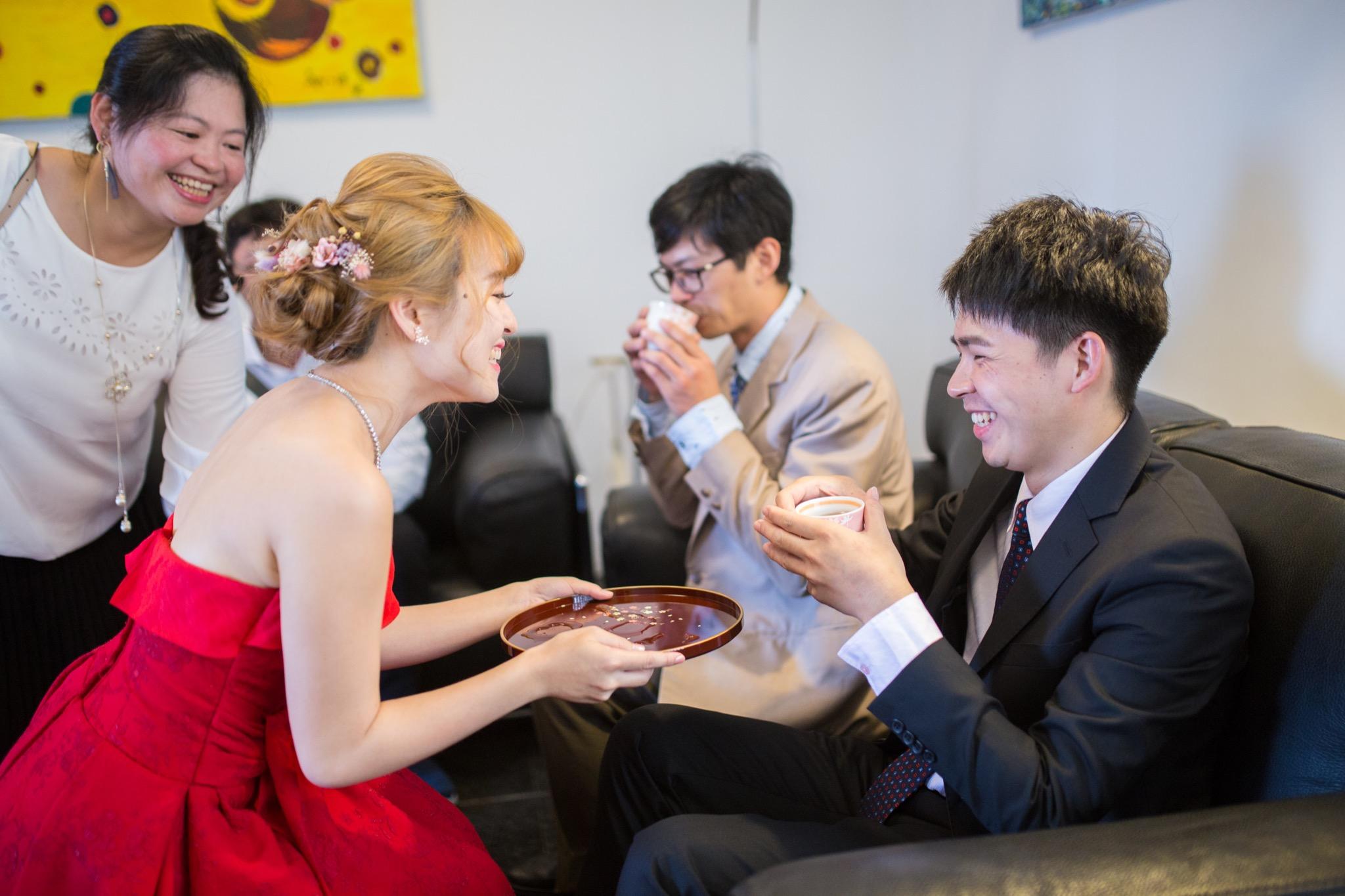 南投南峰高爾夫球場,舉辦婚禮文定儀式,攝影師張西米,台中婚錄推薦35