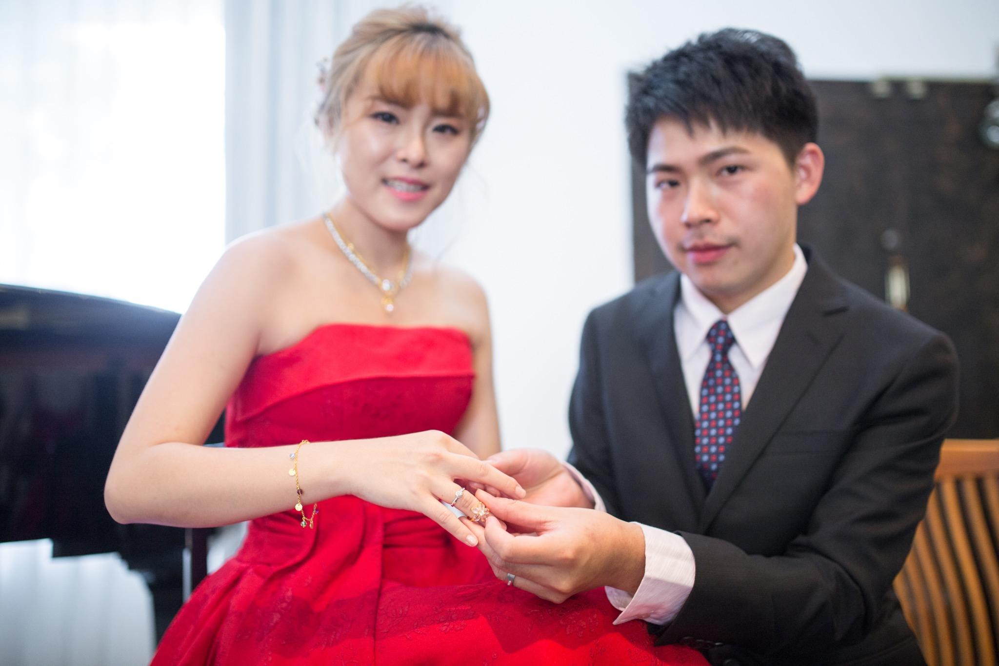 南投南峰高爾夫球場,舉辦婚禮文定儀式,攝影師張西米,台中婚錄推薦39