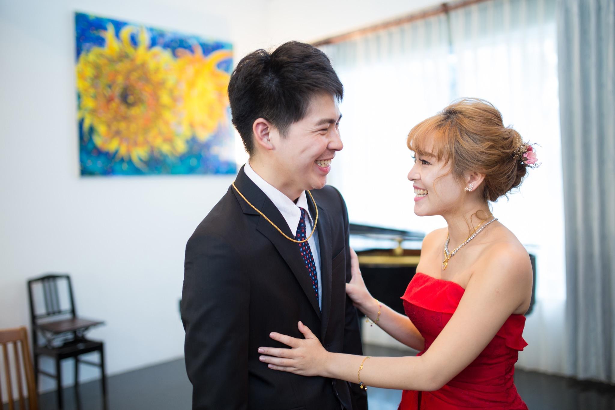 南投南峰高爾夫球場,舉辦婚禮文定儀式,攝影師張西米,台中婚錄推薦42