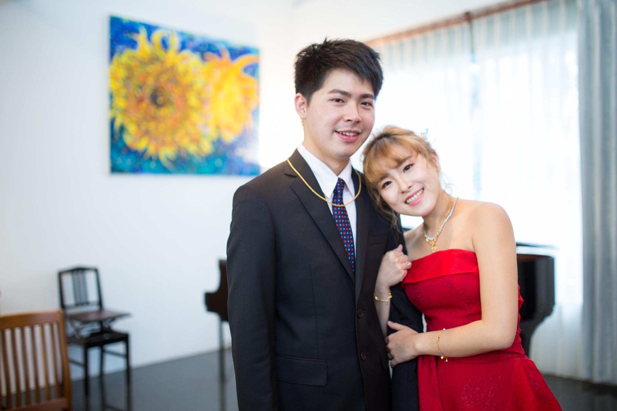 南投南峰高爾夫球場,舉辦婚禮文定儀式,攝影師張西米,台中婚錄推薦43