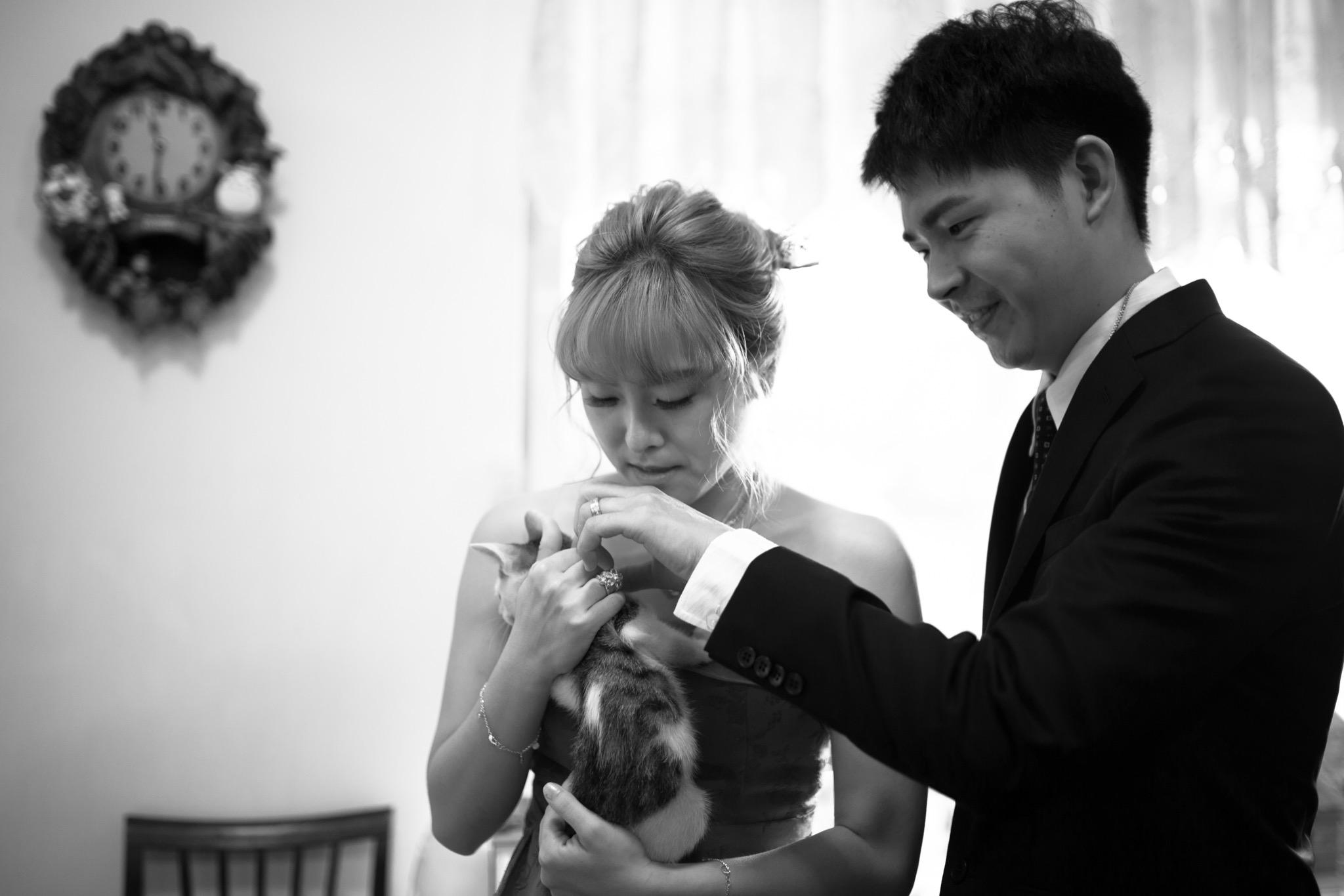 南投南峰高爾夫球場,舉辦婚禮文定儀式,攝影師張西米,台中婚錄推薦45