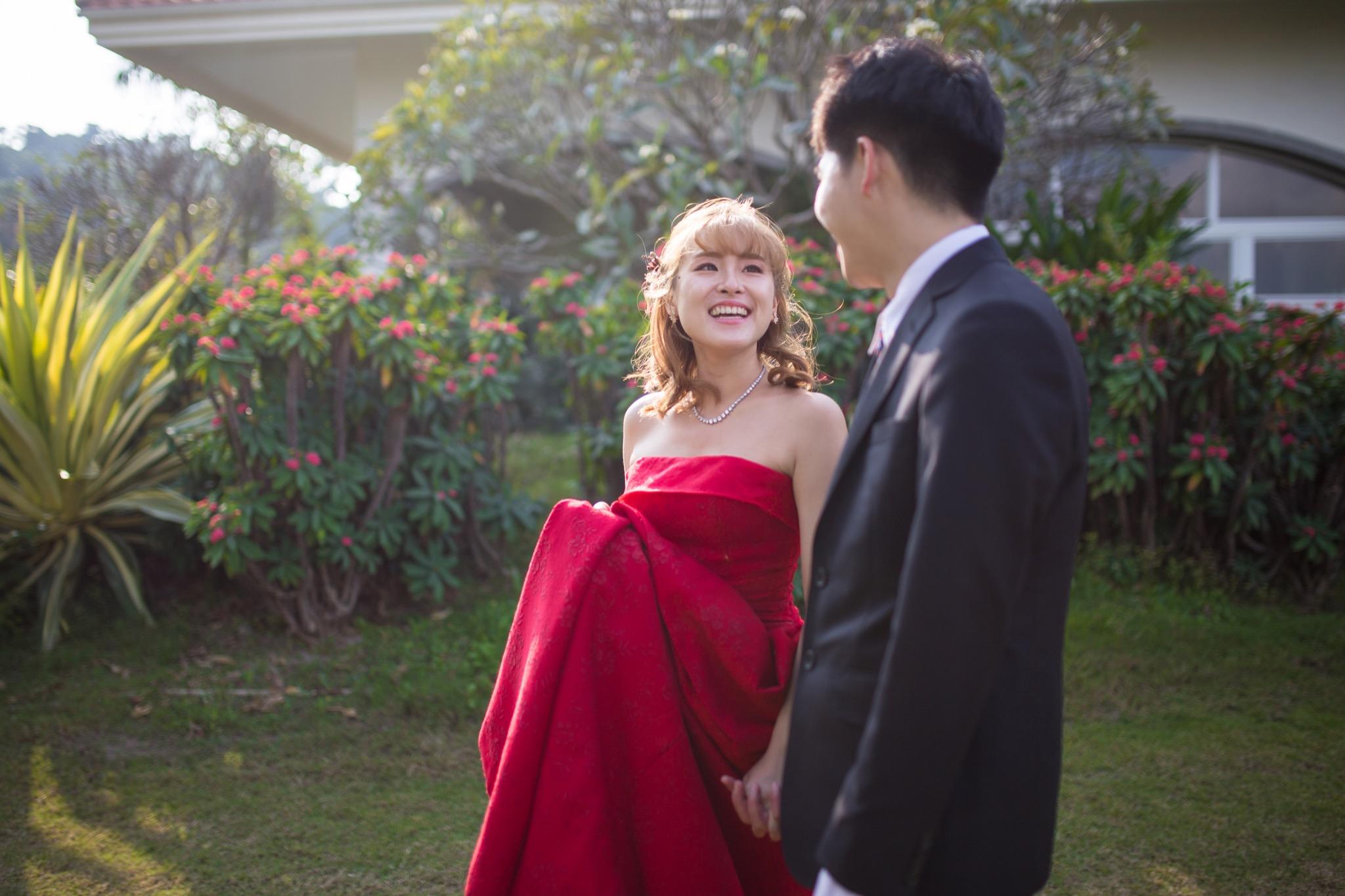 南投南峰高爾夫球場,舉辦婚禮文定儀式,攝影師張西米,台中婚錄推薦54