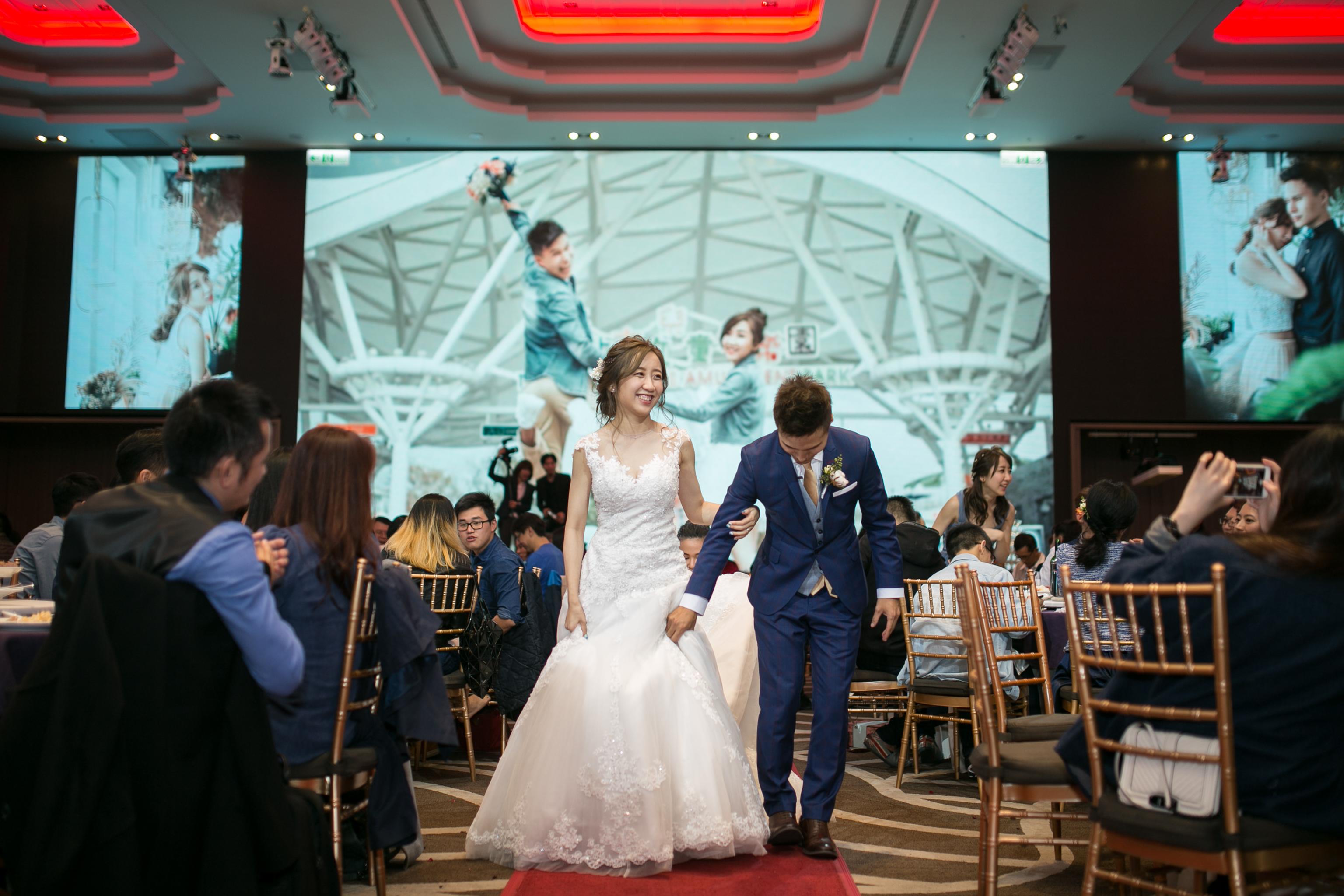 兔兔超人WAWA迎娶晚宴,新莊頤品大飯店,台中婚錄推薦110
