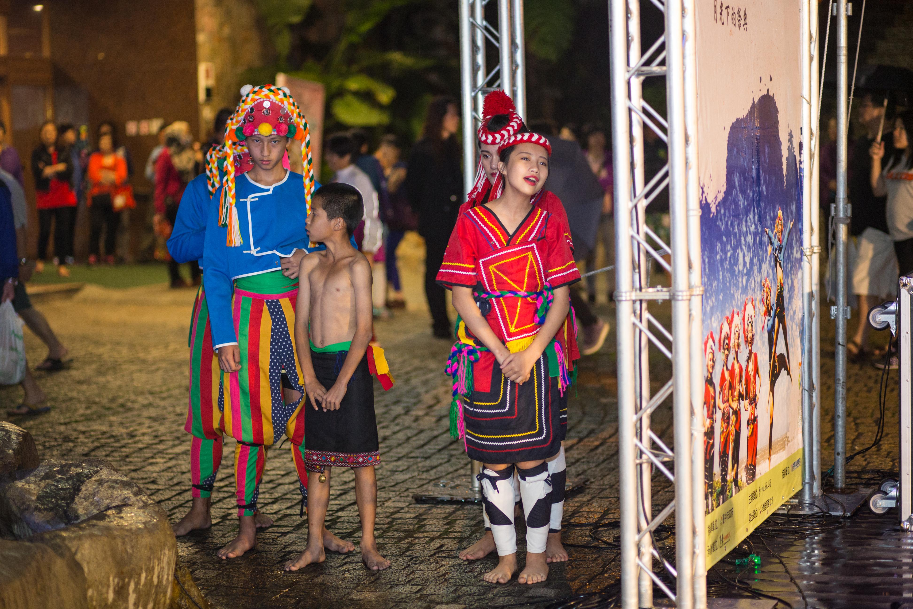 花都藝術季在谷關溫泉,原住民舞蹈,台中婚錄推薦7