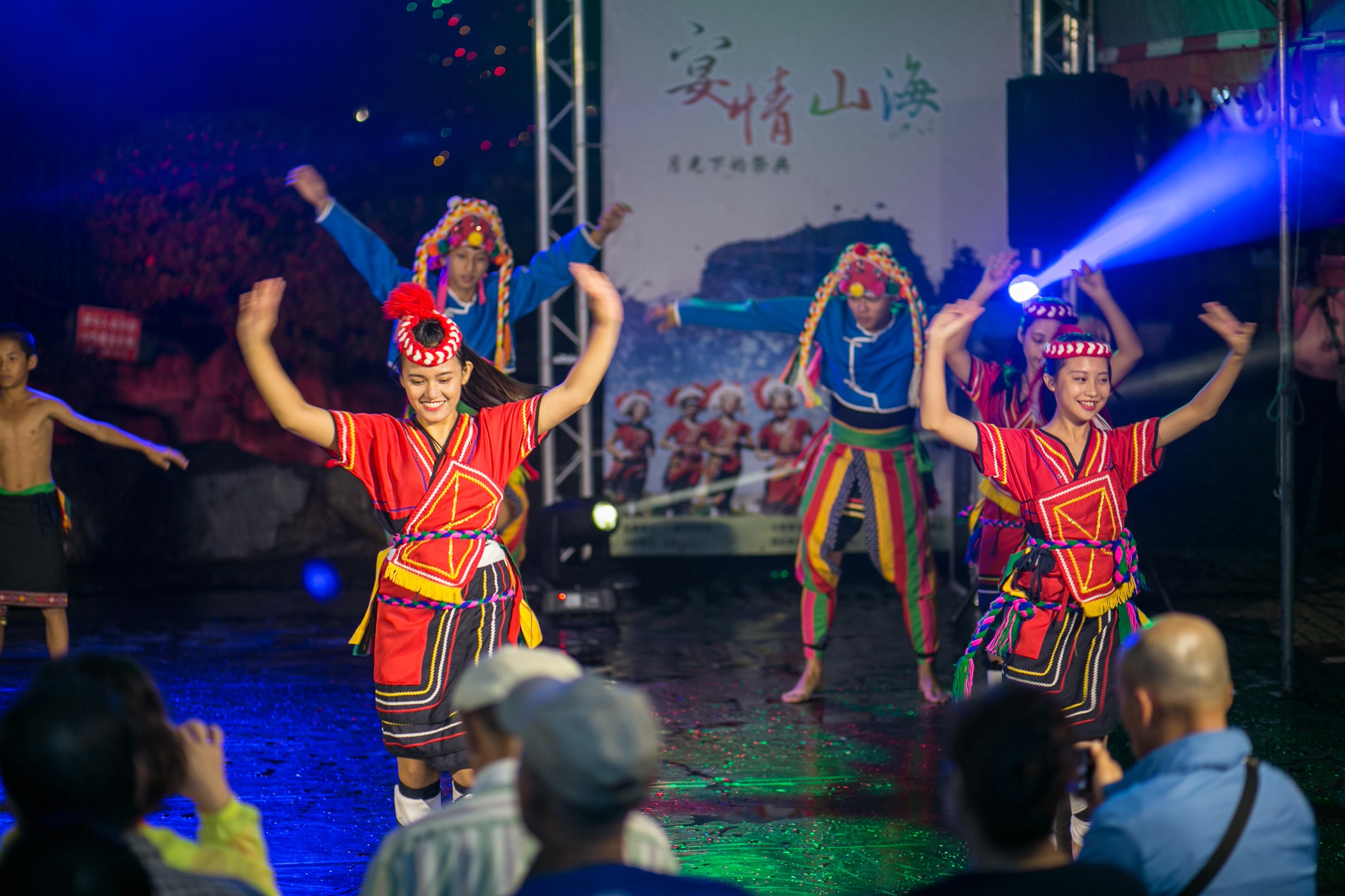 花都藝術季在谷關溫泉,原住民舞蹈,台中婚錄推薦8