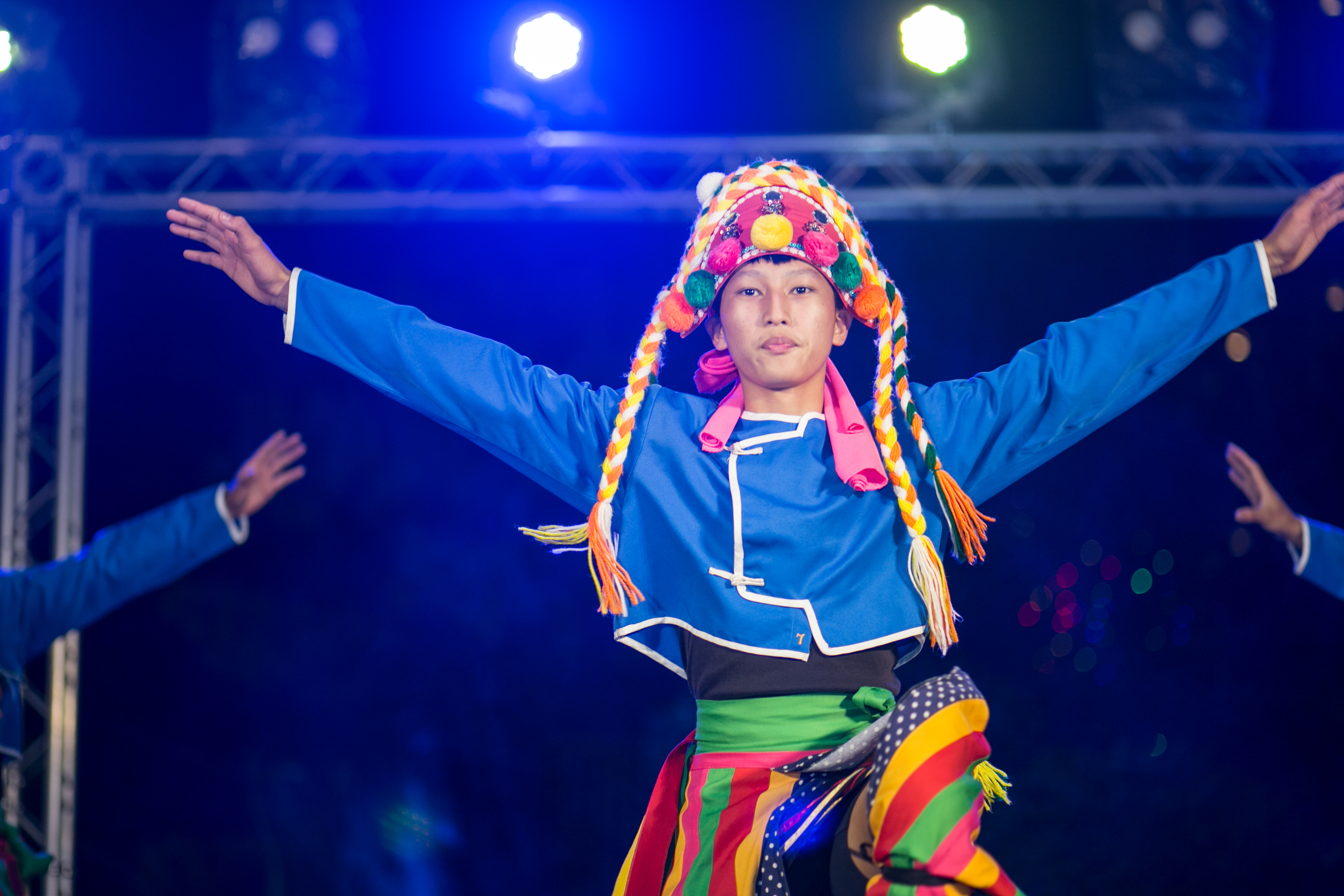 花都藝術季在谷關溫泉,原住民舞蹈,台中婚錄推薦11