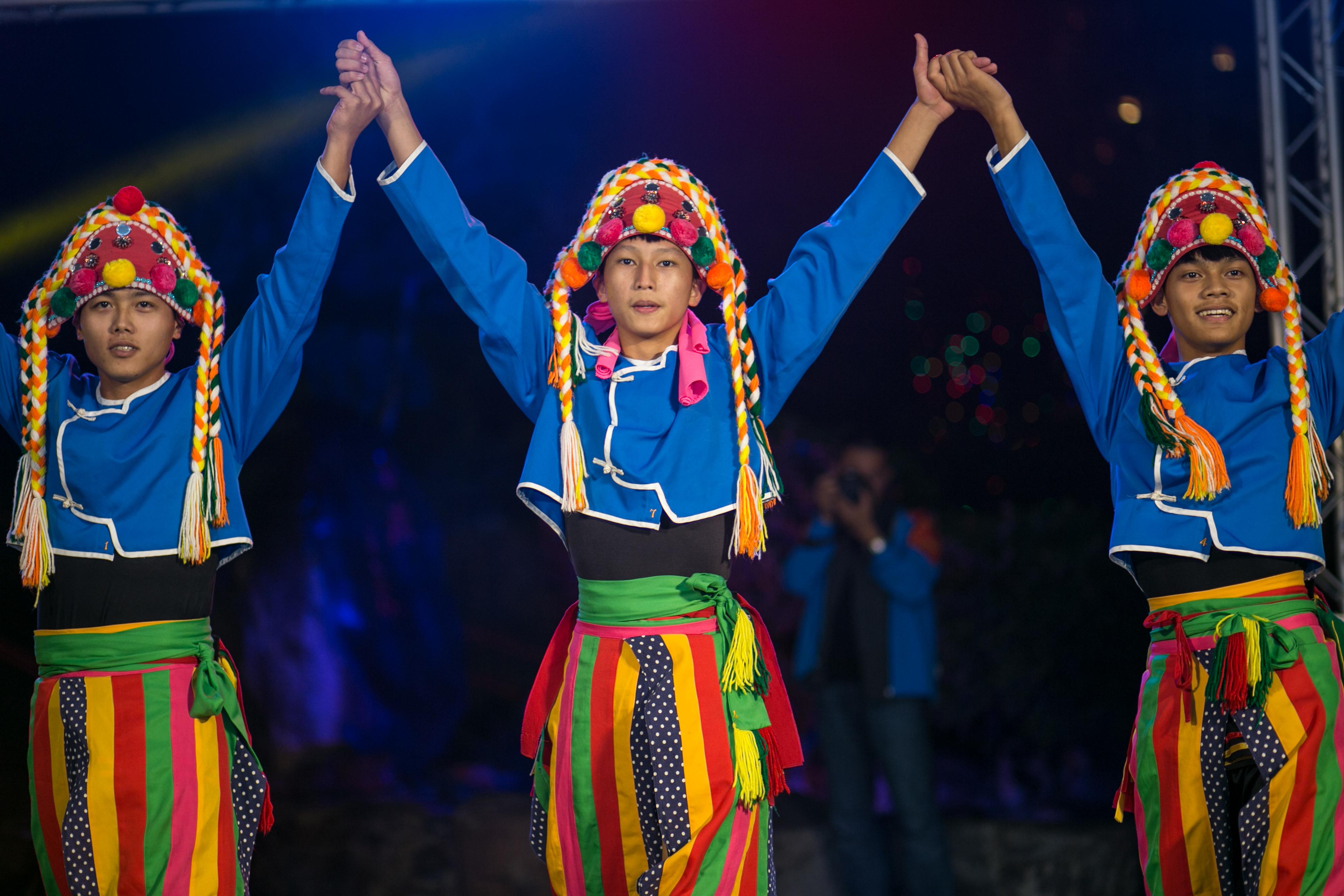 花都藝術季在谷關溫泉,原住民舞蹈,台中婚錄推薦13
