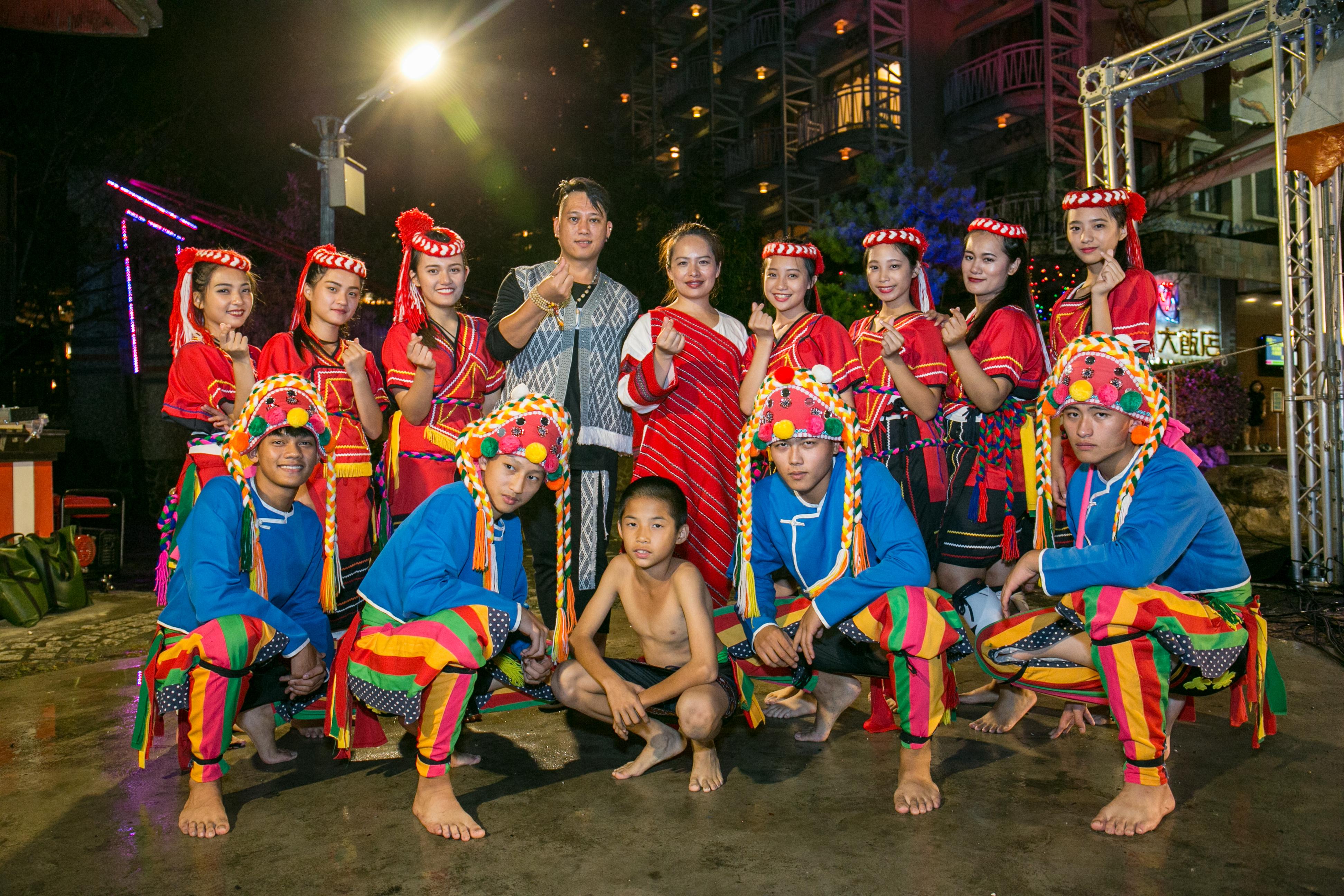 花都藝術季在谷關溫泉,原住民舞蹈,台中婚錄推薦25