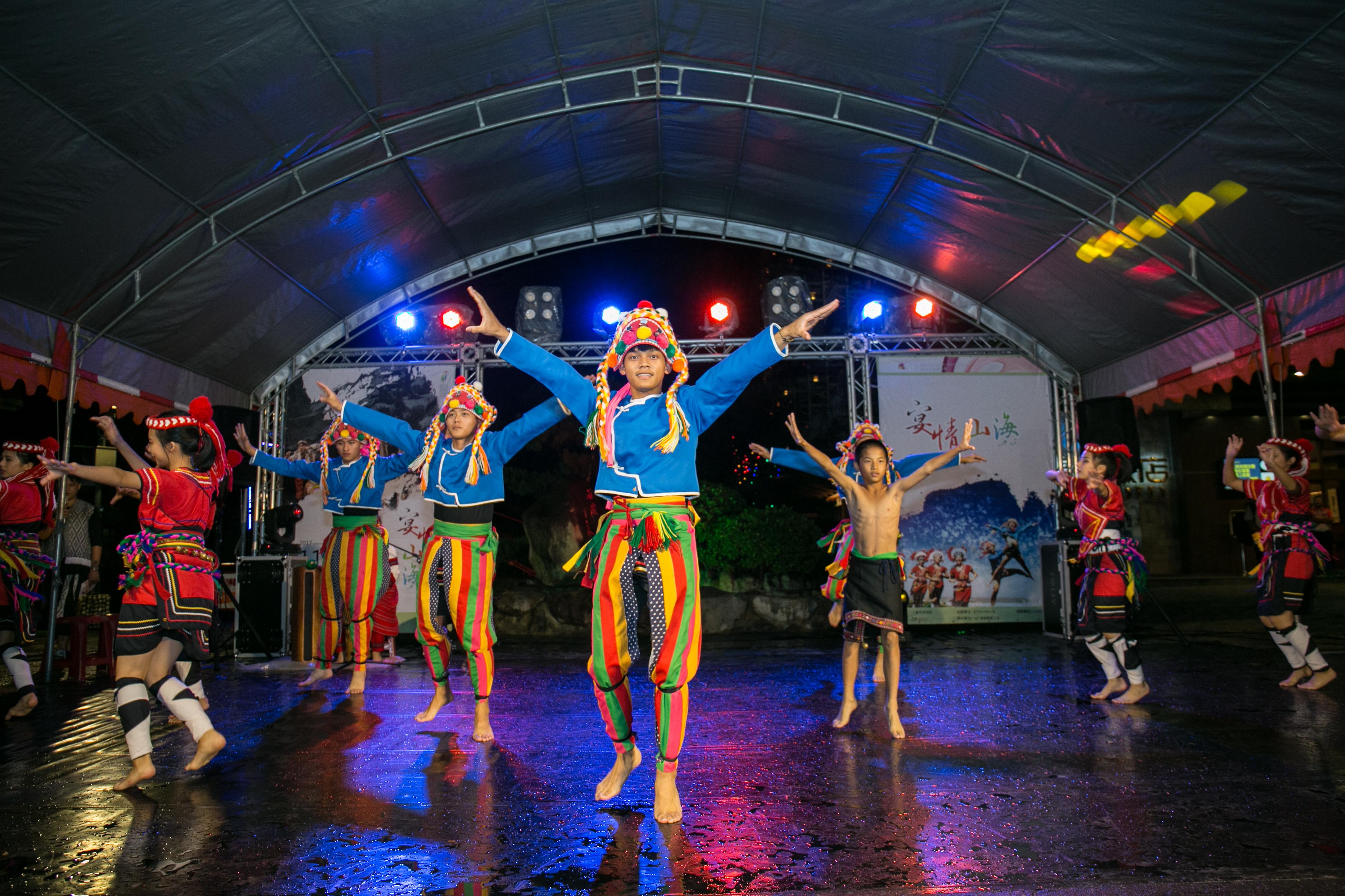 花都藝術季在谷關溫泉,原住民舞蹈,台中婚錄推薦27