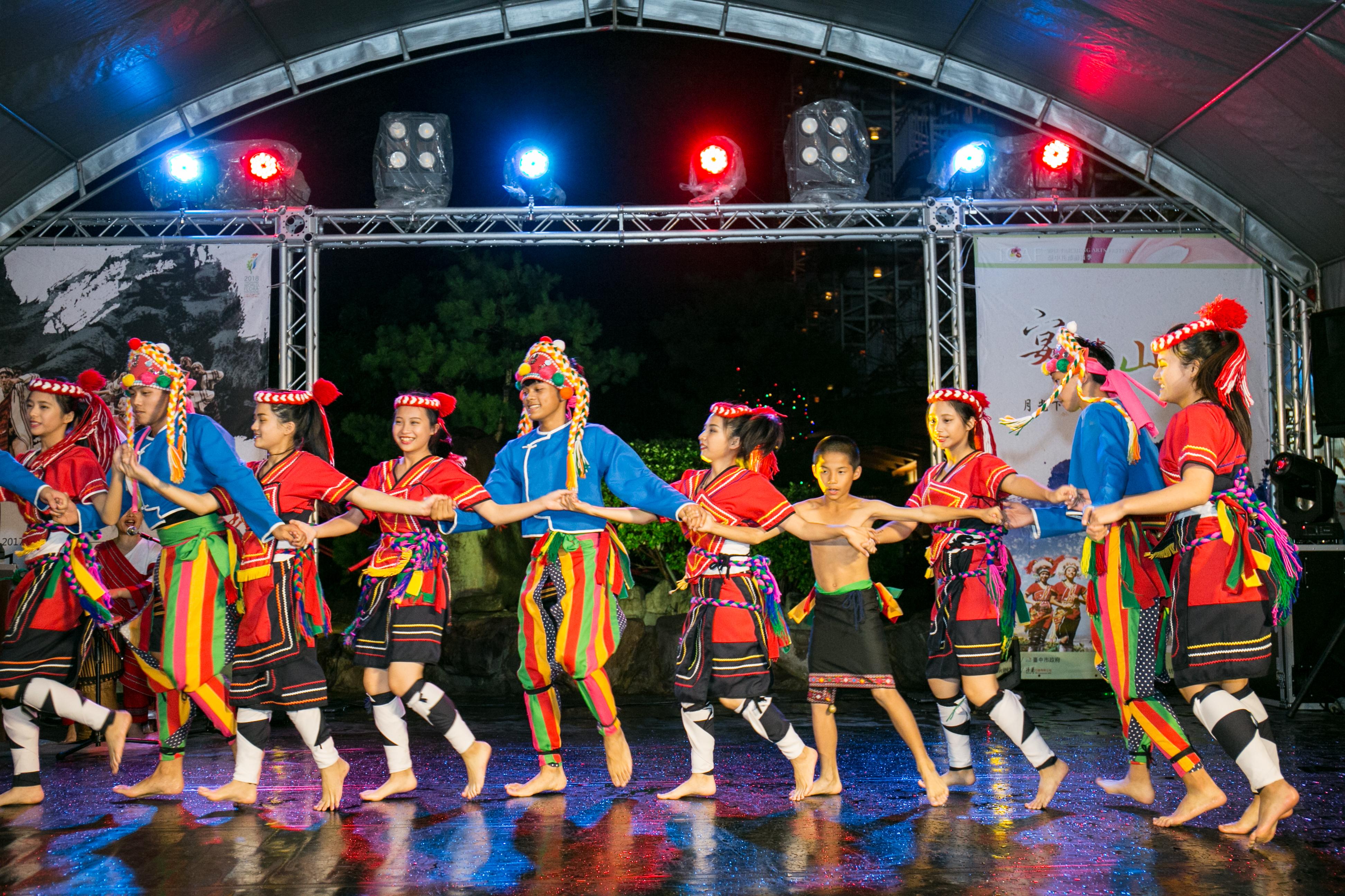 花都藝術季在谷關溫泉,原住民舞蹈,台中婚錄推薦32