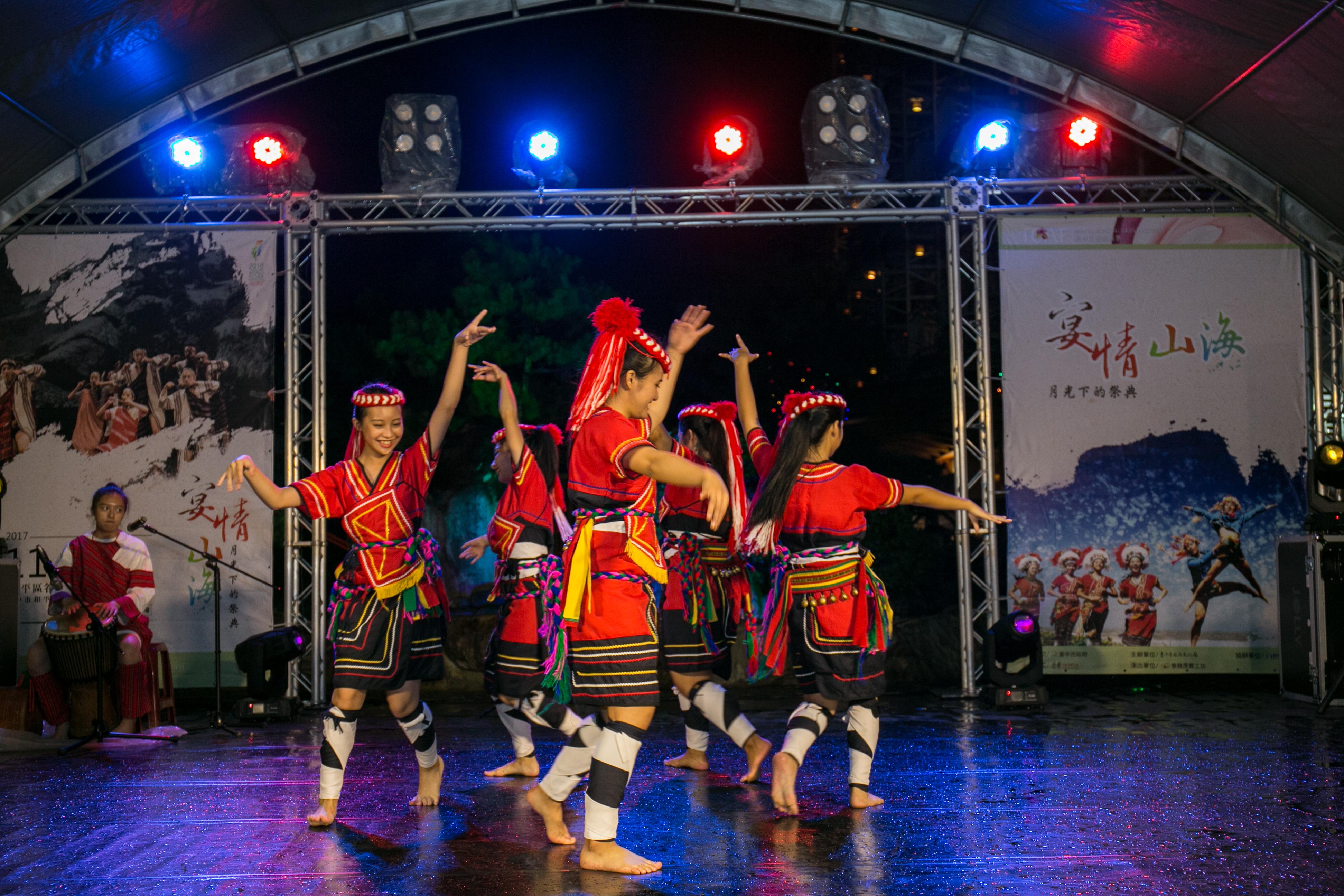 花都藝術季在谷關溫泉,原住民舞蹈,台中婚錄推薦36