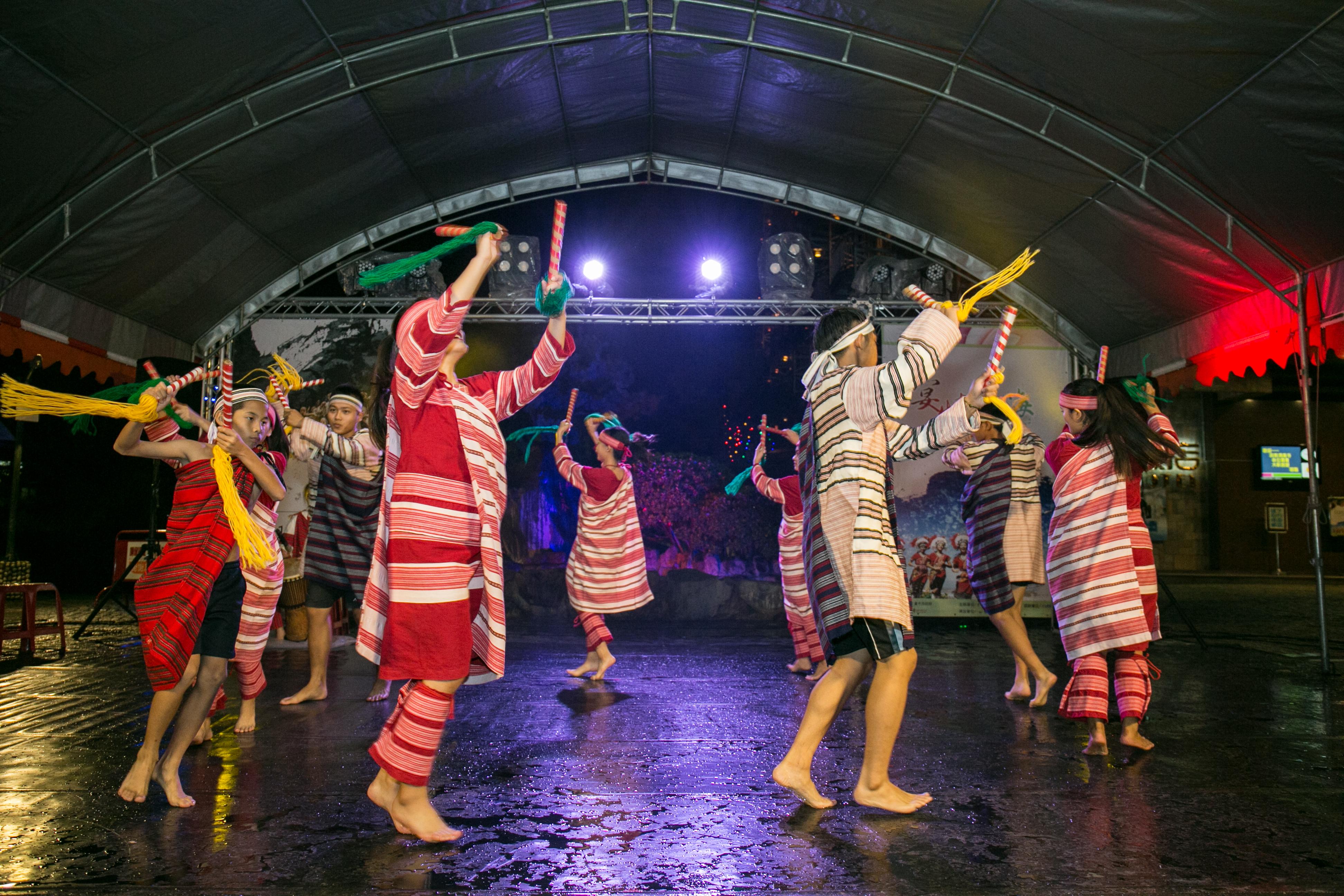 花都藝術季在谷關溫泉,原住民舞蹈,台中婚錄推薦45