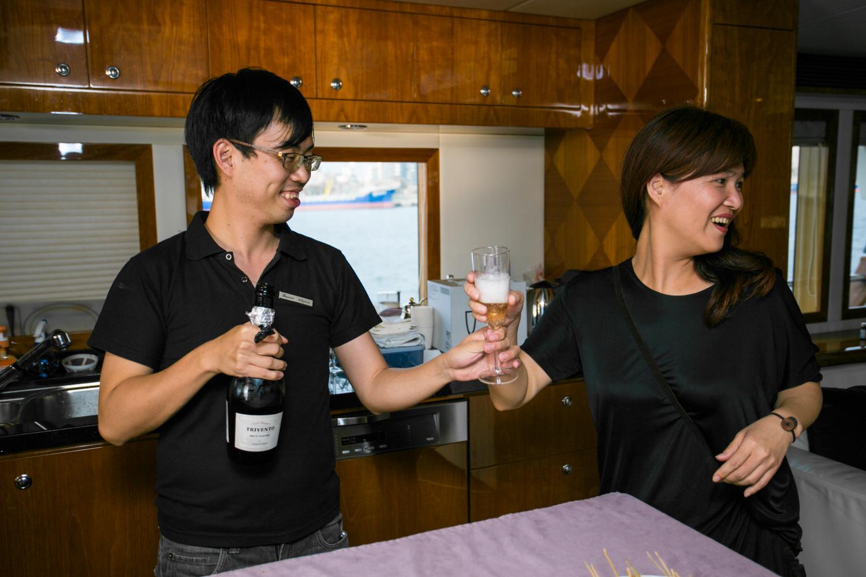 亞果遊艇俱樂部一日遊在高雄,台中婚錄張西米33